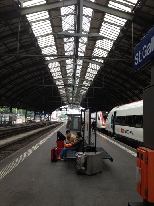 Bahnhof St.Gallen en St. Gallen, St. Gallen