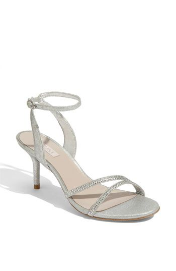These are my silver heels by Glint <3 I think it would go very nicely with the Eggplant bridesmaid dress!