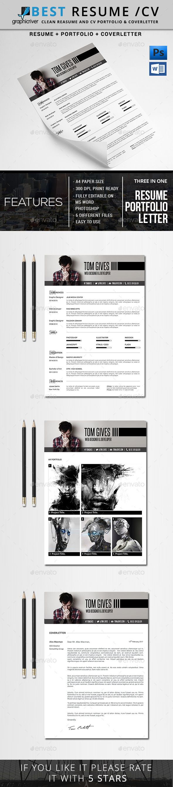 45 best Resumes images on Pinterest | Cv template, Cv resume ...