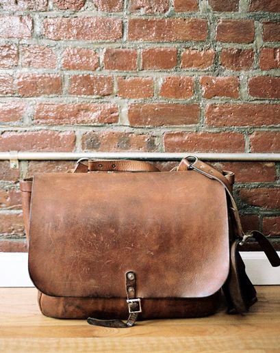 This J. Crew Messenger Bag is another one of Dave 1's essentials that I can get behind