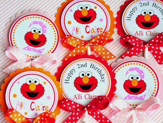 Aliexpress.com: Comprar Elmo Elmo de La Magdalena Decoraciones de Fiesta de Cumpleaños Fiesta de Cumpleaños Decoraciones Del Partido Kids de decorated kids birthday cakes fiable proveedores en Amelyfavor Store