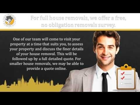 Oxfordshire Removals Man and Van Services - YouTube