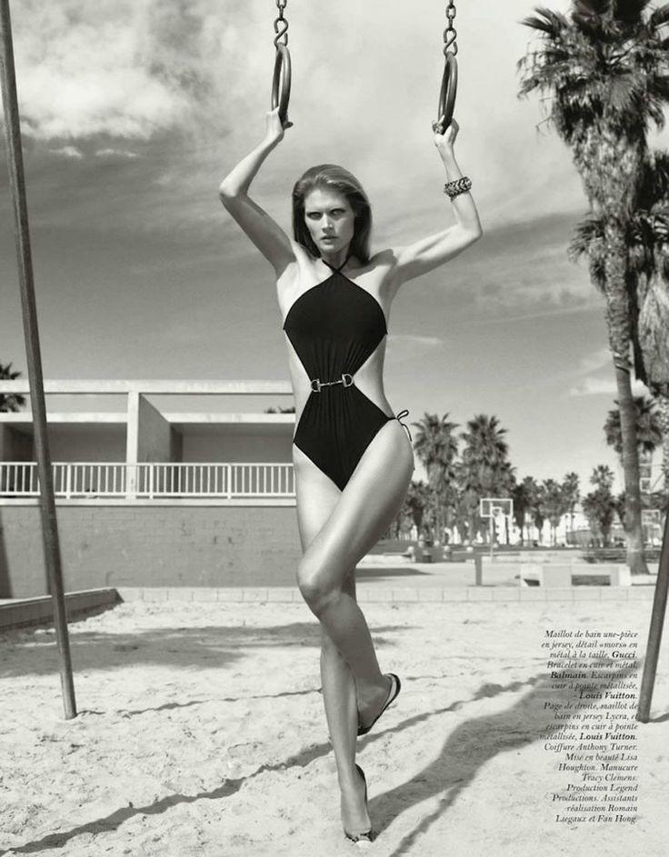 Vogue Paris - May 2012 - Black Series - Dark Swimwear