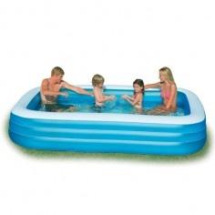 http://idealbebe.ro/intex-piscina-swim-center-family-p-15087.html Piscina este ideala pentru relaxare in zilele calduroase de vara. Este confectionata din vinyl de grosime 0.38 mm si are 3 camere de aer fiecare cu valva dubla.