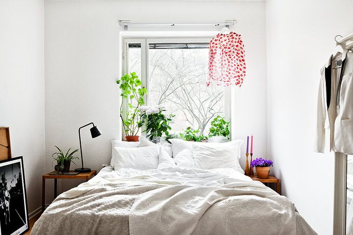 Small but lovely #bedroom.