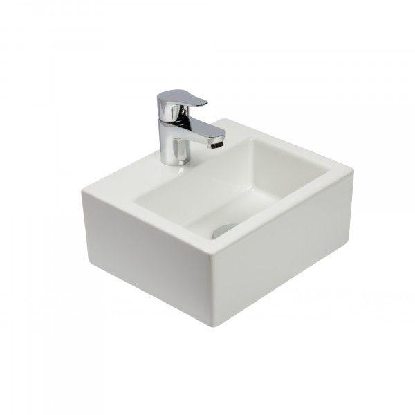 uac lavabo de porcelana pam lavabo suspendido de tamao reducido y moderno diseo de