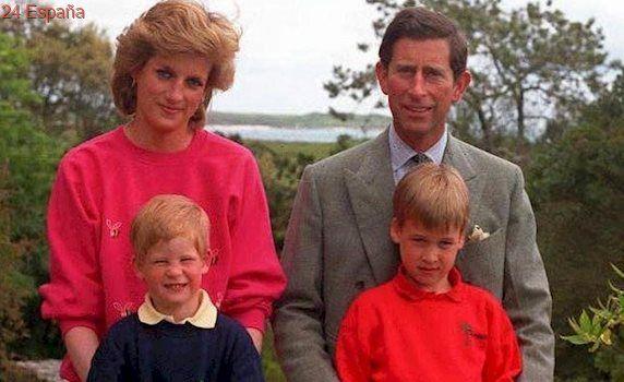 Se desvela la última llamada de Diana de Gales a sus hijos Guillermo y Enrique