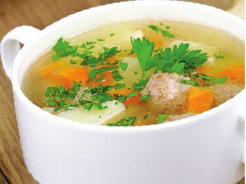 Supă cu perişoare