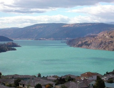 My all time favorite lake - Kalamalka Lake. I love just looking at it when I do the drive from Kelowna to Vernon, BC