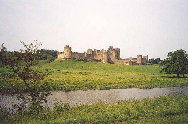 Castillo de Alnwick. Inglaterra.