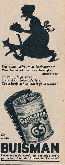 adv Buisman 1940.