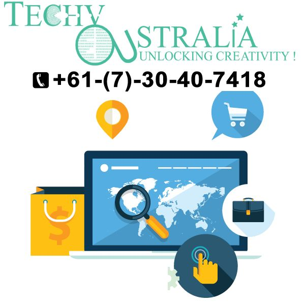 cheap website development Techy Australia +61-(7)-30-40-7418