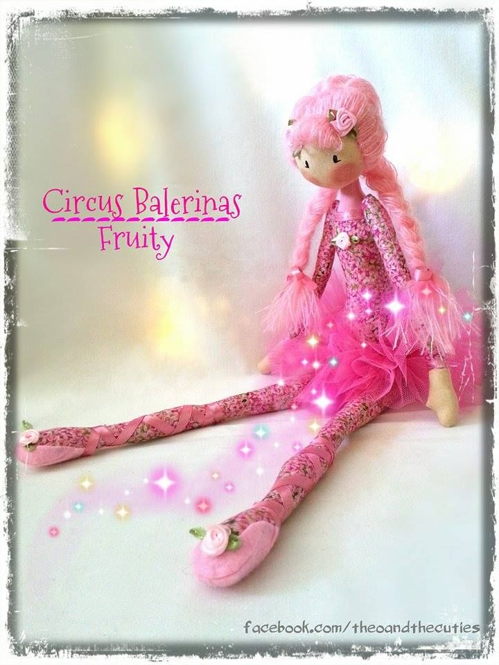 Theo and the Cuties -  Circus Balerinas - Fruity facebook.com/theoandthecuties