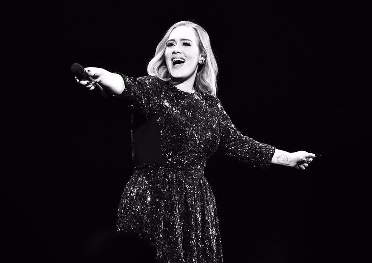 Photo #GarethCattermole #GettyImages #Adele #GentingArena #Birmingham #UnitedKingdom #AdeleLive2016 March 29, 2016