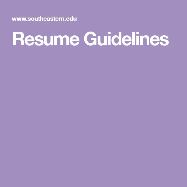11 best UX Resumes images on Pinterest Resume, Curriculum and Ux - guidelines for what to include in a resume