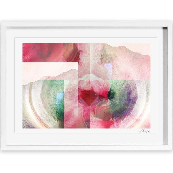 Pascha Framed Painting Print (€300) ❤ liked on Polyvore featuring home, home decor, wall art, framed paintings, modern home accessories, modern wall art, framed wall art and modern paintings