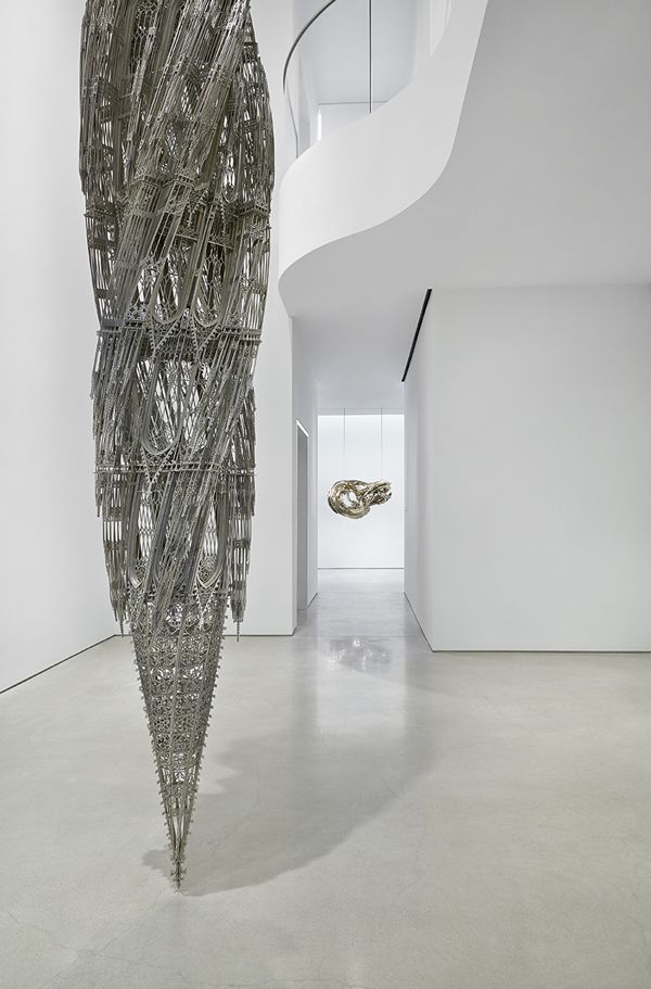 The Gothic Meets The Parametric In Wim Delvoye's Twisting, Laser-Cut Architectural Sculptures :: Stretching and Twisting Traditional Gothic Architecture