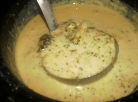 Watching My Weight with Weight Watchers: Crockpot Broccoli Cheese Soup for Weight Watchers