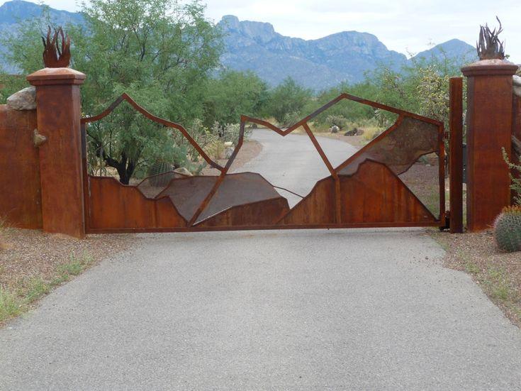 AZ Custom Gates Installed Arizona Wrought Iron Gates For Sale