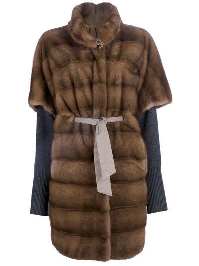 BRUNELLO CUCINELLI VINTAGE - Mink fur coat 1