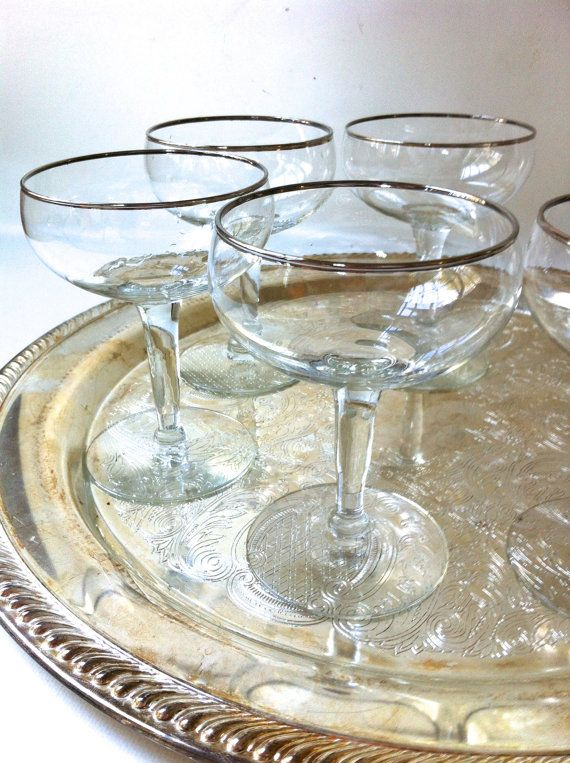 Crystal Coupe Glasses