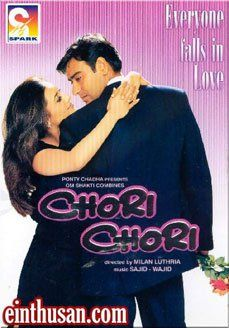Chori Chori Hindi Movie Online - Ajay Devgan, Rani Mukerji and Sonali Bendre. Directed by Milan Luthria. Music by Sajid-Wajid. 2003 ENGLISH SUBTITLE