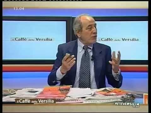 """""""I 170 anni dello Stagi"""", Reteversilia, programma """"Il caffé della Versilia"""", conduce Massimo Mazzolini, 25.04.2013. Presentazione del programma delle manifestazioni per il 170° della Scuola d'arte, oggi Liceo artistico statale """"Stagio Stagi"""" di Pietrasanta (Lu)."""