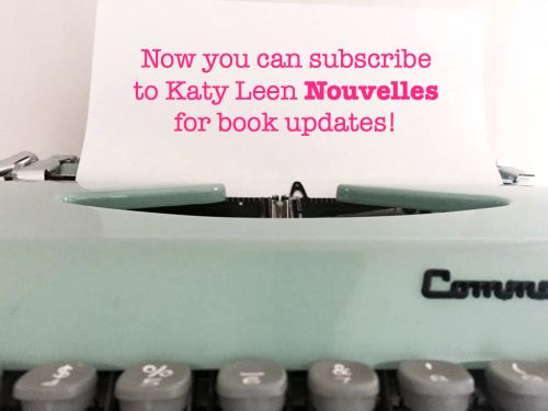Get updates about Lora Weaver Mysteries--capers with a dash of romance & French charm:)