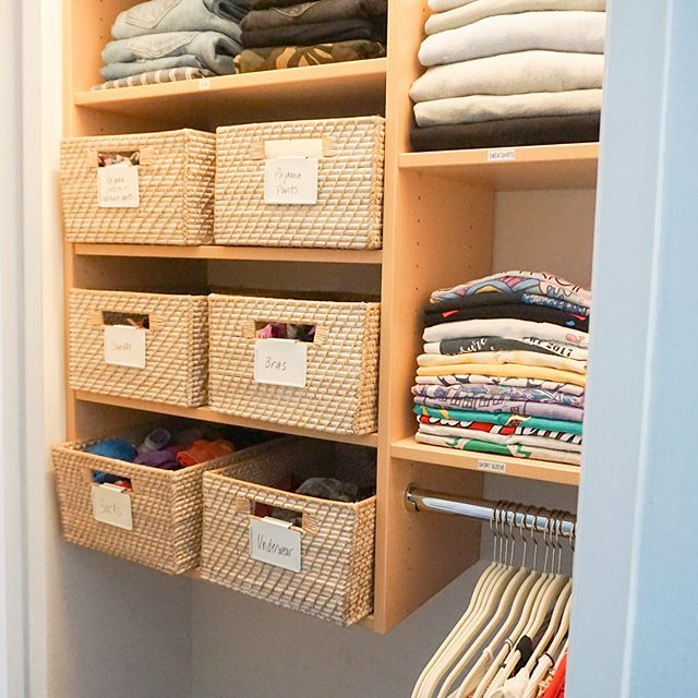 Ask yourself, why are you still holding on? Almost everything in this closet went to trash or donate and we eliminated an entire dresser by moving everything into the closet 🙌🏼 You know what to do 👉🏼 SWIPE! 😍 #horderly #horderlynyc #chelsea #manhattan #before #after #swipe #swipeleft #chelsea #thecontainerstore #baskets #contain #containeryourself #closet #wardrobe #transformation #makeover #clothes #donate #trash #letgo #getorganized #dresser #drawers #girls #girlsstyle #girlsroom…
