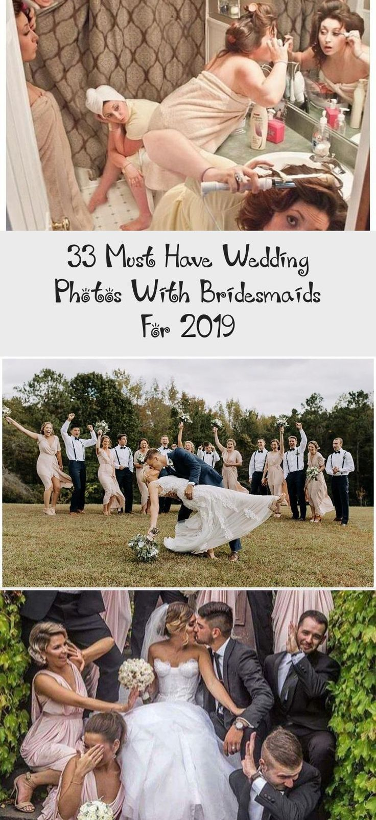 33 Must Have Wedding Photos with Bridesmaids for 2019 #VelvetBridesmaidDresses #JuniorBridesmaidDresses #UniqueBridesmaidDresses #CheapBridesmaidDresses #BridesmaidDressesLace