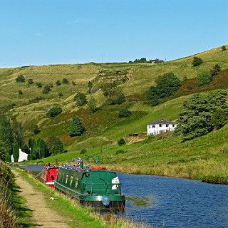 Barges on the Rochdale Canal | by Tim Green aka atoach