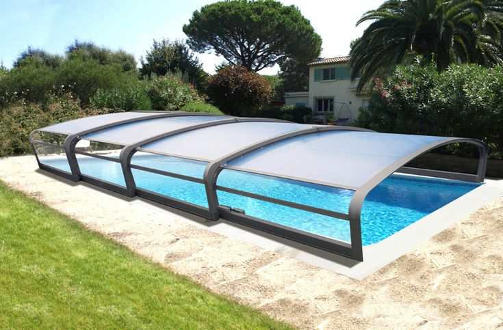 Ingenieuze overkapping voor je zwembad van abrisud http for Abrisud pool covers