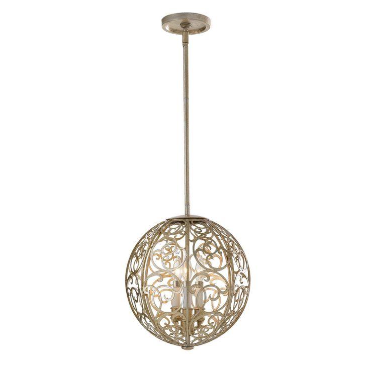 Arabesque Three Light Chandelier - Elstead Lighting - Netlighting Ltd