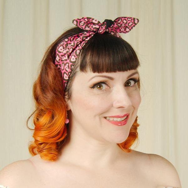 Pink Cheetah Hair Ties – Cats Like Us