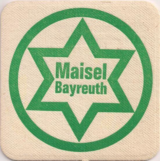 Vorderseite: Bierdeckel-Europa-Mitteleuropa-Deutschland-Bayern-Oberfranken-Bayreuth-Maisel-Diät Pilsner