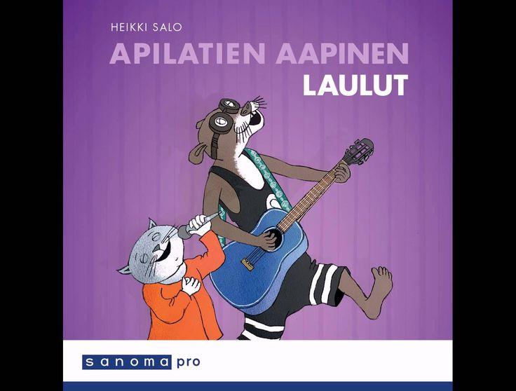 Apilatien aapinen, Laulut CD: Viikonpäivät-laulu