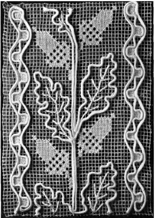 Tutorial basado en red bordado ruso (Ⅱ): malla de diseños de bordado (Master Class) - maomao - mi acción del corazón