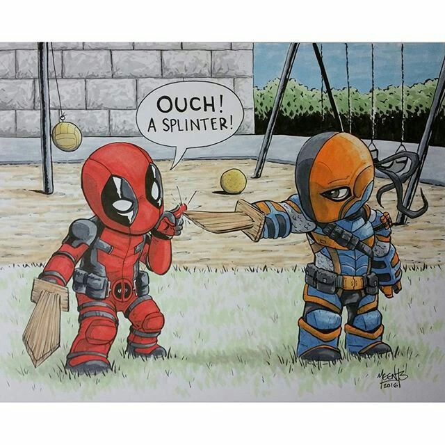 Deadpool vs Deathstroke