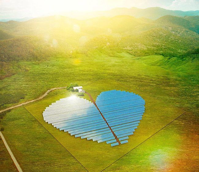 Conoce la granja solar más hermosa y romántica del mundo. http://www.expoknews.com/conoce-la-granja-solar-mas-hermosa-y-romantica-del-mundo/