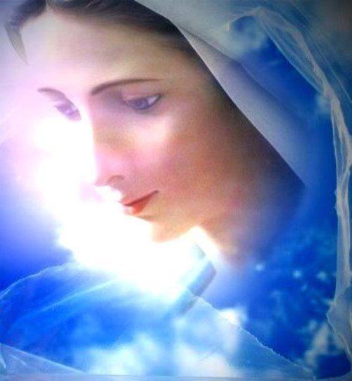 pentecostes y la virgen maria