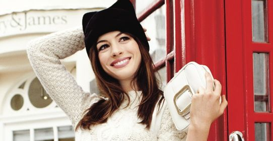 Anne Hathaway - Devil Wears Prada is one of my all time fave movies.