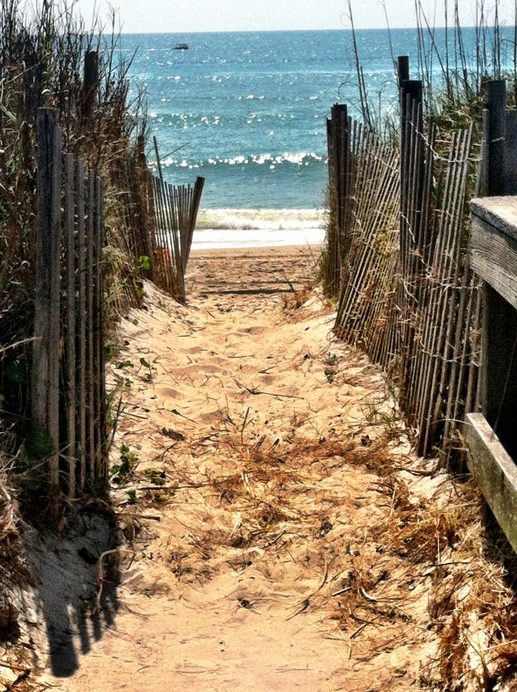 The path to the ocean - Carolina Beach, NC