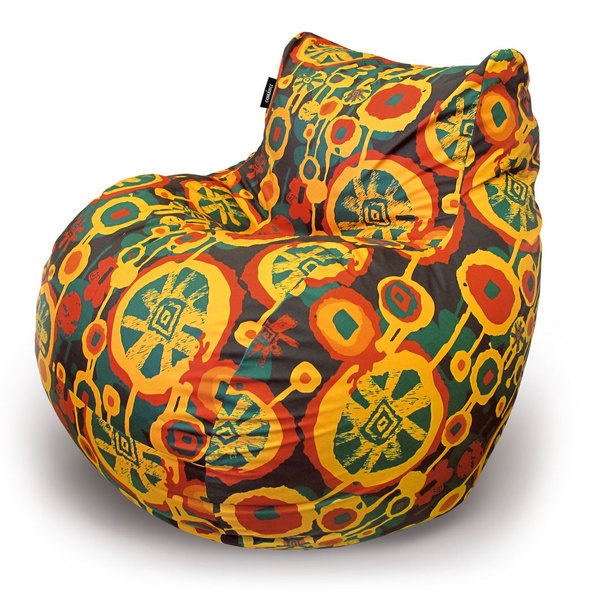 Furniture, Bean Bags With Designer Prints By Natalya Arefyeva, Via Behance