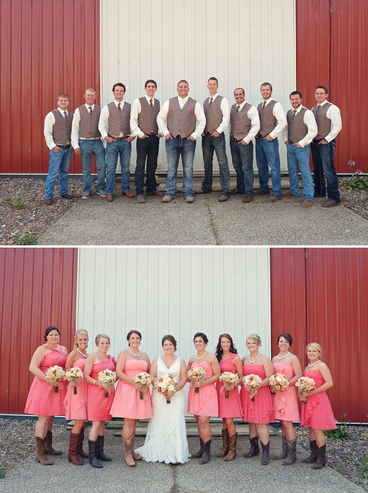 Western Wedding Ideas   Rustic Pink And Lace Backyard Minnesota Wedding |  Davista Photography