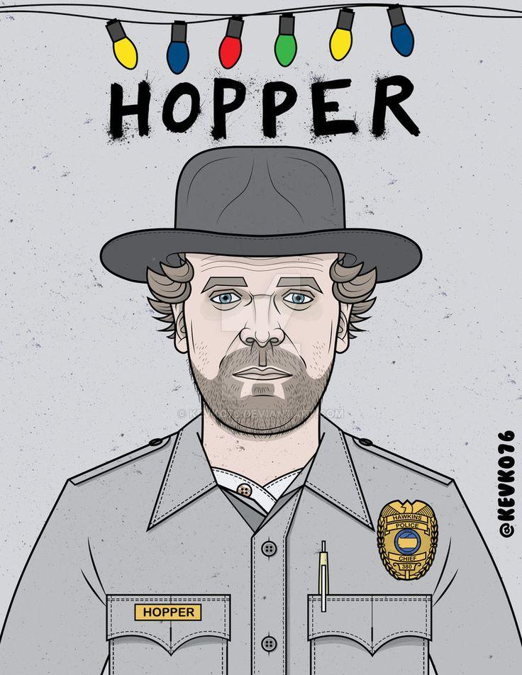Jim Hopper - Stranger Things by kevko76