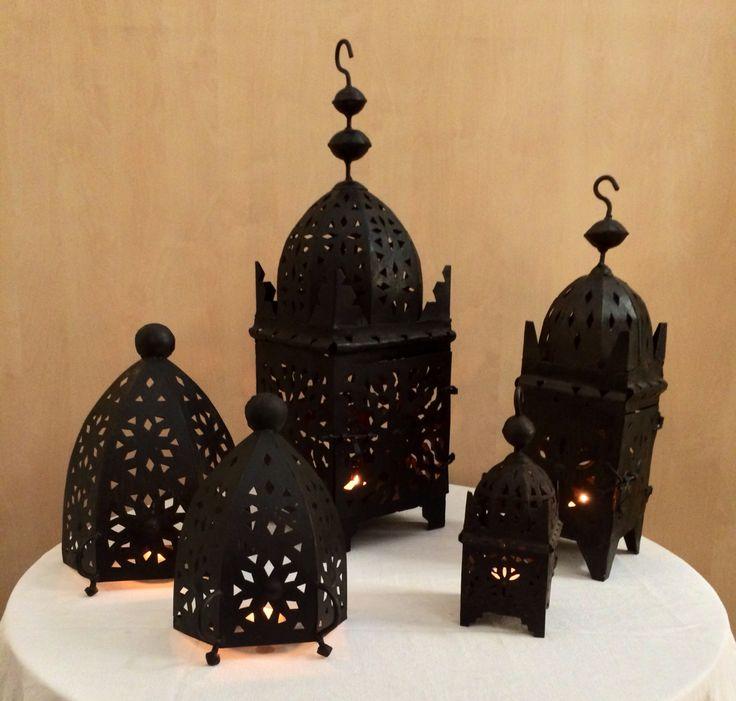 #Lanterne #marocchine in #ferro #battuto