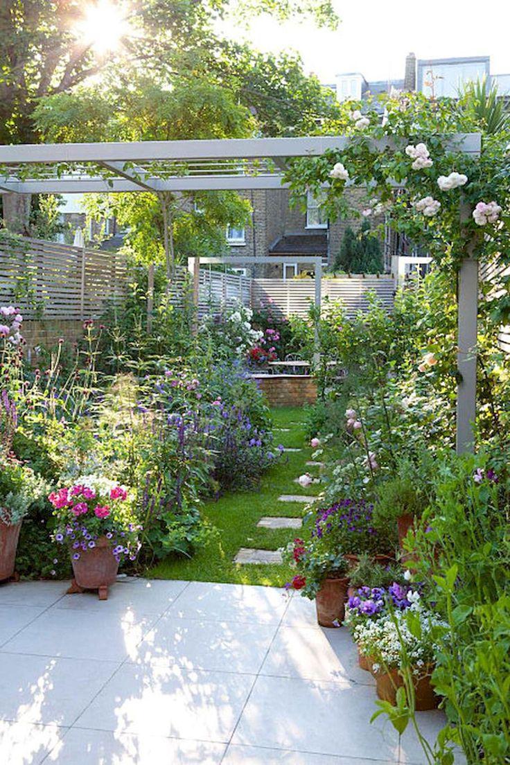Petit jardin 8 am nagements rep r s sur pinterest for Jardin etroit