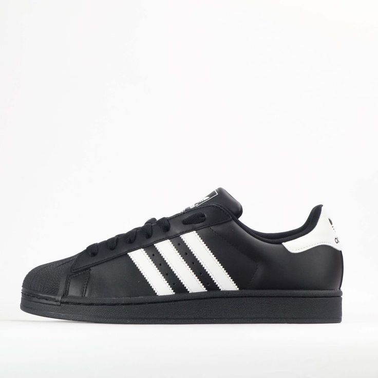 adidas Originals Superstar II 2 Mens Leather Shell Toe Trainers Shoes #adidasOriginals #Trainers #Casual