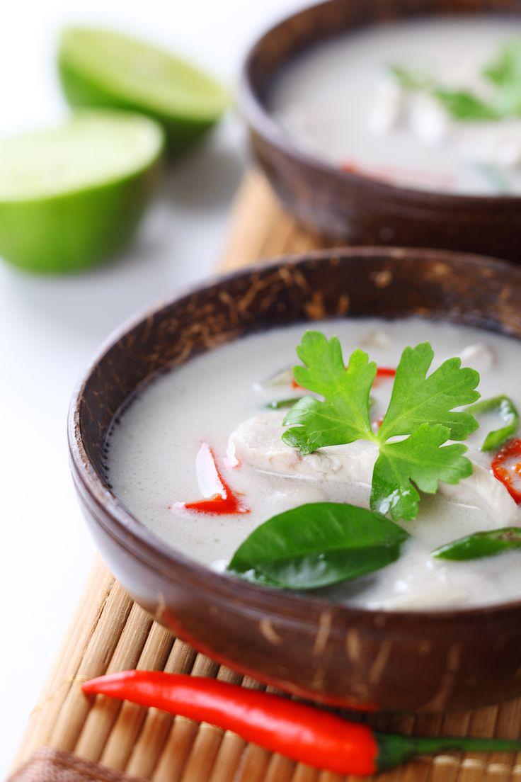 Sopa de Galinha e Côco - Tailândia