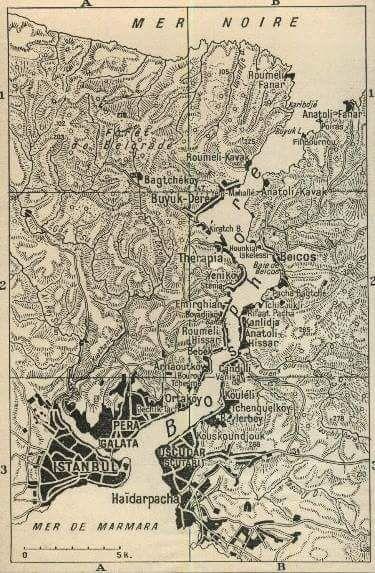 Eski bir İstanbul haritası #istanlook #birzamanlar